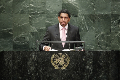 Foreign Minister of Saint Vincent and the Grenadines Addresses General Assembly