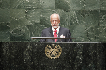 Foreign Minister of Oman Addresses General Assembly