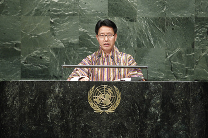 Minister for Home and Cultural Affairs of Bhutan Addresses General Assembly