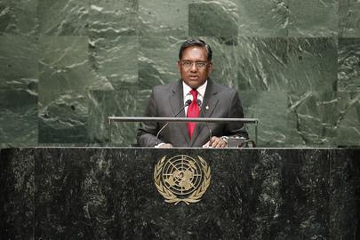Former President, Special Envoy of Maldives Addresses General Assembly