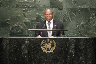 Permanent Representative of Benin Addresses General Assembly
