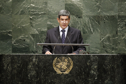 Permanent Representative of Cabo Verde Addresses General Assembly