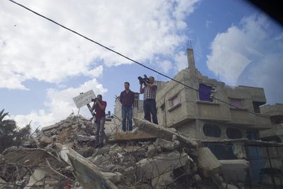 Scenes of Aftermath of Gaza Conflict