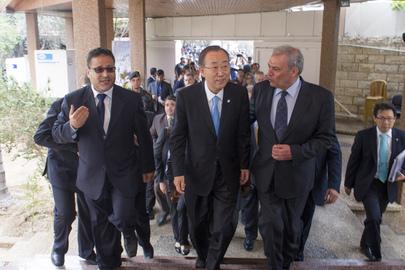 Secretary-General Visits Gaza