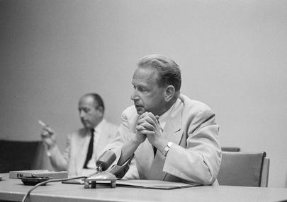 Secretary-General Dag Hammarskjöld