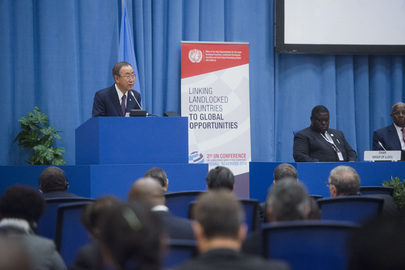 Opening of UN Conference on Landlocked Developing Countries