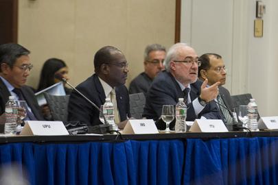 Meeting of UN Chief Executives Board, Washington