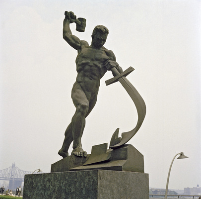 Soviet Statue at the United Nations