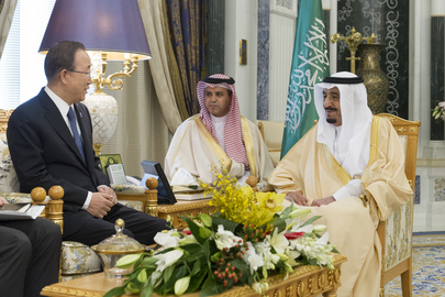 Secretary-General Meets King of Saudi Arabia