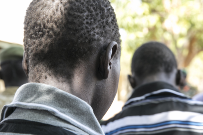 Former Child Soldiers Received by South Sudan DDR Commission, Juba