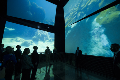 Secretary-General Visits Biodiversity Museum, Panama City