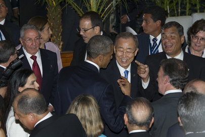 Opening of Seventh Summit of Americas