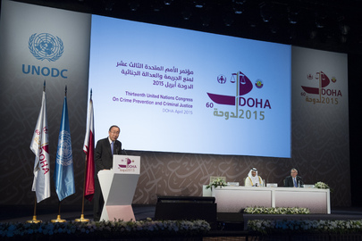Opening Ceremony of the 13th United Nations Congress on Crime Prevention and Criminal Justice