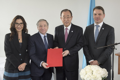 Secretary-General Designates UN Special Envoy for Road Safety