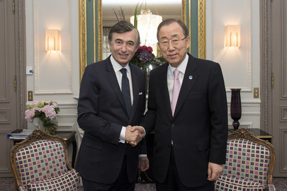 Secretary-General Meets Special Advisor on Financing for Development