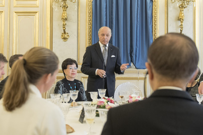 Luncheon Hosted by Foreign Minister of France for UN Chief Executives