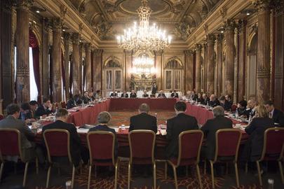 UN Chief Executives Board Session Continues, Paris