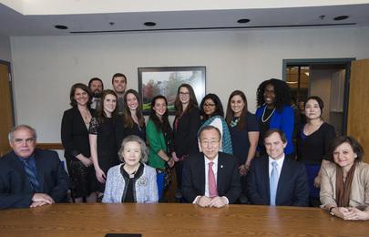 Secretary-General Visits University of Maryland
