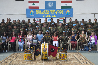 UNIFIL Marks International Day of Yoga