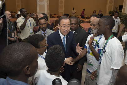 Secretary-General Attends Global Civil Society Forum in Ethiopia