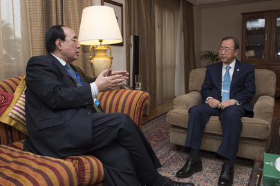 Secretary-General Briefed by Under-Secretary-General for Economic and Social Affairs