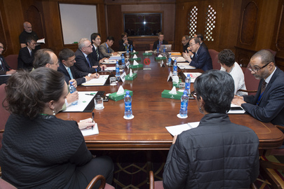 Secretary-General Meets FFD3 Donor Representatives in Ethiopia