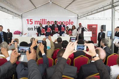 Launch of UNAIDS Report on Millennium Development Goal 6