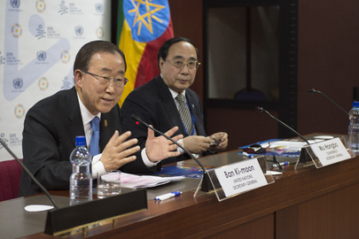 Press Conference by Secretary-General in Addis Ababa