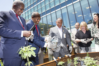 Opening of UN Food Garden on Occasion of Nelson Mandela Day