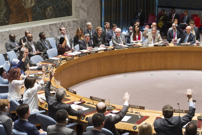 Security Council Adopts Resolution on Use of Chemical Weapons in Syria