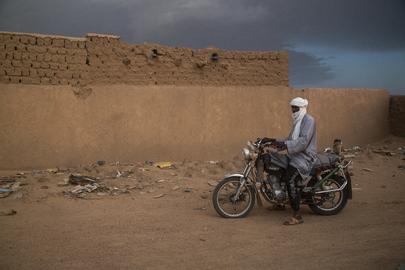 Street Scene from Kidal, Northern Mali