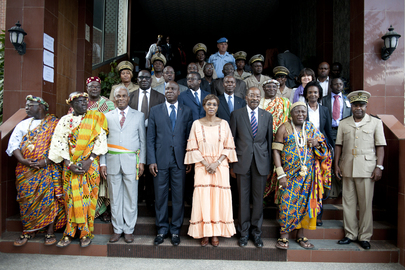 Head of UNOCI Attends Opening Ceremony of Workshop for Abidjan Traditional Leaders