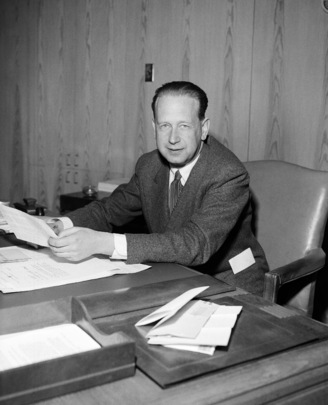 Dag Hammarskjöld, Secretary-General of United Nations