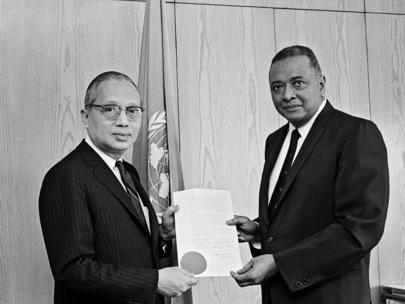 Permanent Representative of Guyana Presents Credentials