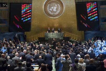 UN Summit Adopts Post-2015 Development Agenda