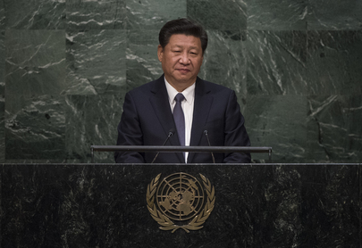 President of China Addresses Summit on Sustainable Development