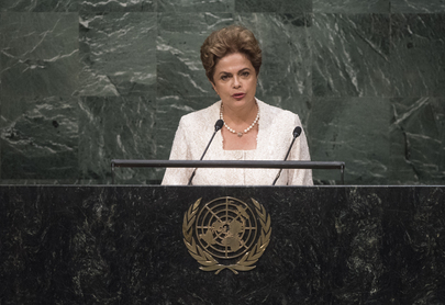 President of Brazil Addresses General Assembly