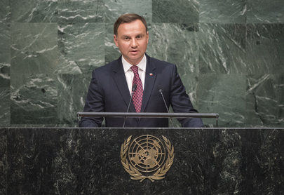 President of Poland Addresses General Assembly
