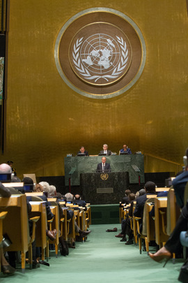 Russian President Addresses General Assembly
