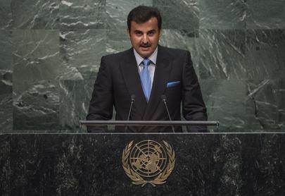 Amir of Qatar Addresses General Assembly