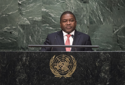 President of Mozambique Addresses General Assembly