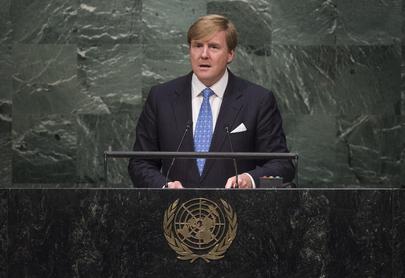 King of Netherlands Addresses General Assembly