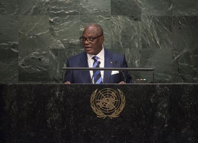 President of Mali Addresses General Assembly