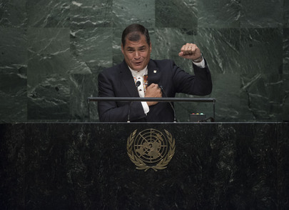 President of Ecuador Addresses General Assembly