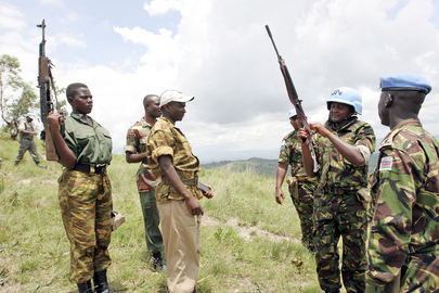 United Nations Operation in Burundi Disarms Rebel Forces