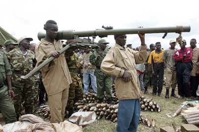 United Nations Opearation in Burundi Disarms Rebel Forces