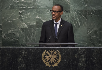 President of Rwanda Addresses General Assembly