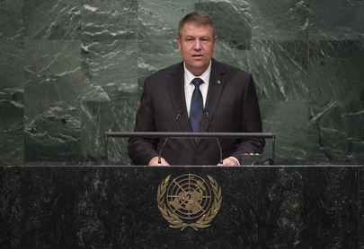 President of Romania Addresses General Assembly