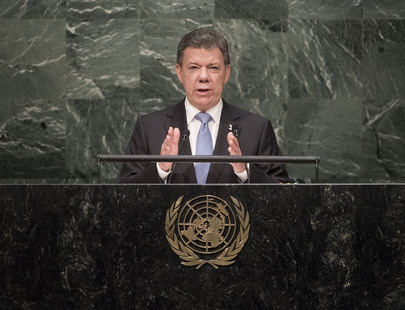 President of Columbia Addresses General Assembly