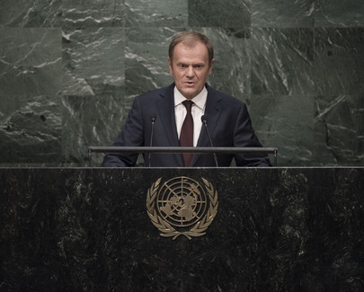 European Council President Addresses General Assembly